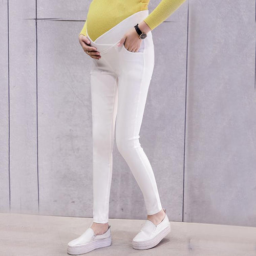 Maternity Low Waist Abdomen Supportive Pants
