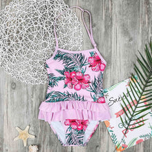 Load image into Gallery viewer, Mom Girl Botanical Prints Matching Swimsuit