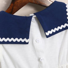 Load image into Gallery viewer, Brother Sister Sailor Collar Matching Outfits