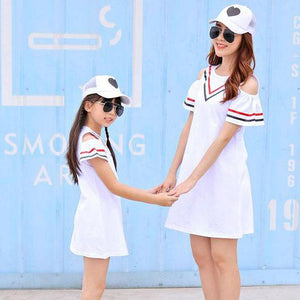 Stripes Color Block Family Outfits