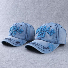 Load image into Gallery viewer, Mom Girl Denim Letters Number Pattern Matching Hat