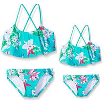 Load image into Gallery viewer, Mom Girl Botanical Prints Matching Swimwear