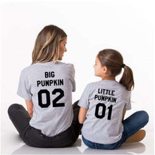 Load image into Gallery viewer, Mom Girl Letters Numbers Pattern Matching T-Shirt