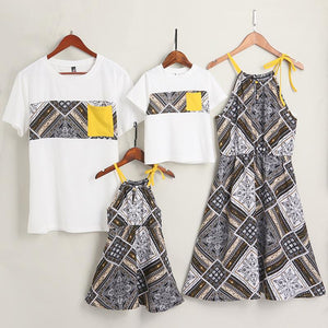 Tribal Prints Family Outfits