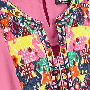 Mom Girl Tribal Prints Matching Dress