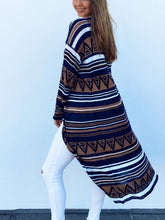 Load image into Gallery viewer, Striped  Long Sleeve Cardigans