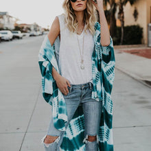 Load image into Gallery viewer, Loose Half Sleeve Printed  Casual Cardigans