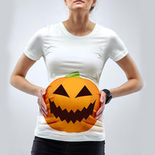 Load image into Gallery viewer, Halloween Pumpkin Print Short Sleeve T-Shirt