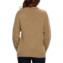 Load image into Gallery viewer, Sexy V Collar Overlapping Long Sleeves Knitted Sweater