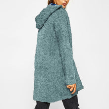 Load image into Gallery viewer, Casual Comfort Long Sleeves Hooded Cardigan