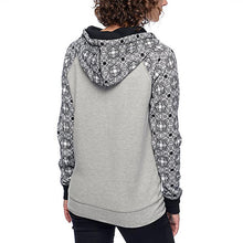 Load image into Gallery viewer, Printing Splicing Long Sleeves Hoodie