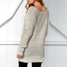 Load image into Gallery viewer, Overlapping Long Sleeves Sweater