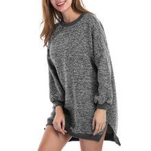Load image into Gallery viewer, Irregular Long Sleeves Sweater