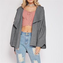Load image into Gallery viewer, Fashion Loose Plain Long Sleeve Dust Coat Cardigan