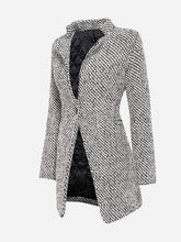 Load image into Gallery viewer, Graceful Lapel  Single Button Coat