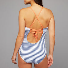 Load image into Gallery viewer, Maternity Striped One Piece Swimsuit