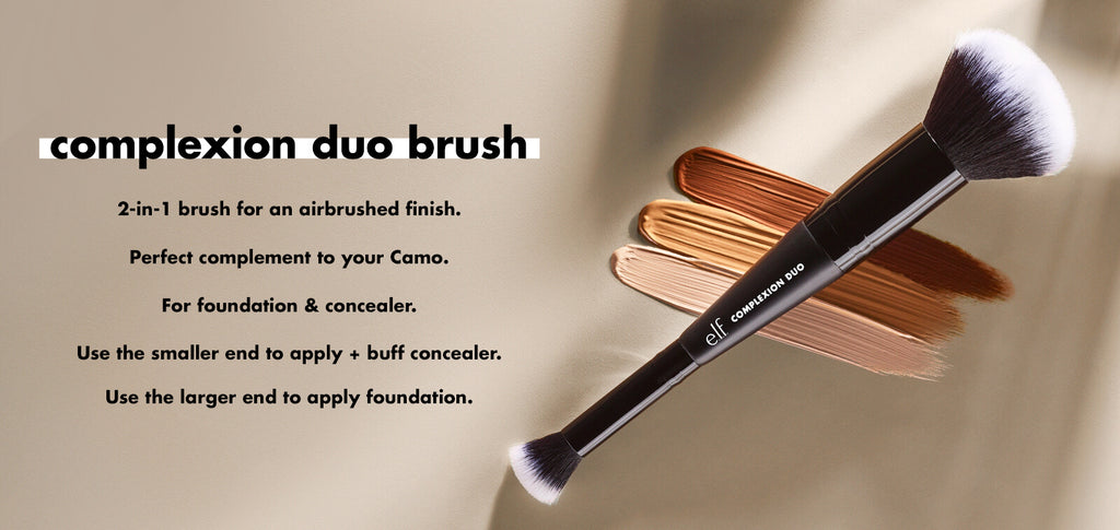 CONCEALER & FOUNDATION COMPLEXION DUO BRUSH