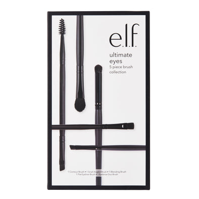 Ultimate Eyes 5 Piece Brush Collection - e.l.f. Cosmetics Australia