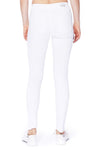 Judy Blue Mid Rise White Skinny Jeans