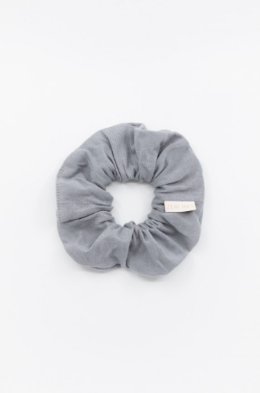 Zenchies Solitude {Dark Neutral Gray} Scrunchie