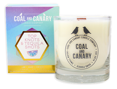 Coal and Canary 'Top Knots & Tequila Shots' 8 oz Candle