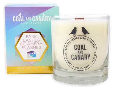 Coal and Canary 'Fake Lashes & Camera Flashes' 8 oz Candle