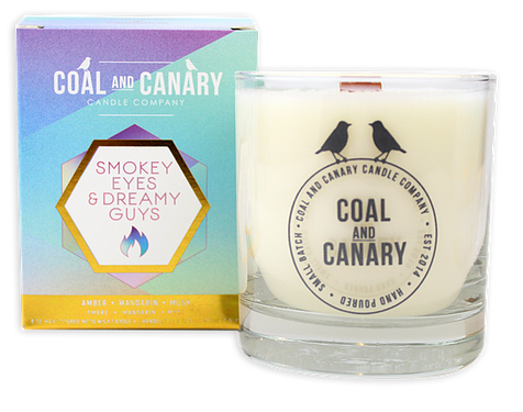 Coal and Canary 'Smokey Eyes & Dreamy Guys' 8 oz Candle
