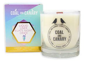 Coal and Canary 'Liquid Liner & Late Night Diner' 8 oz Candle
