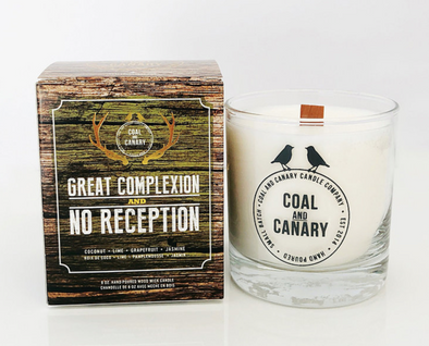 Coal & Canary 'Great Complexion & No Reception' 8 oz Candle