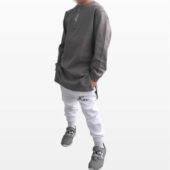 Sweat Long Gris
