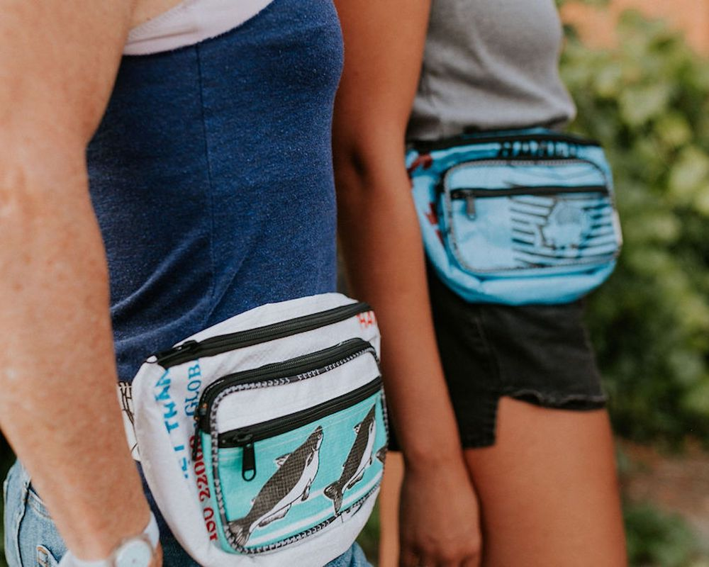 Torrain Recycled Bags, Designed in Portland Oregon: Moon Bag