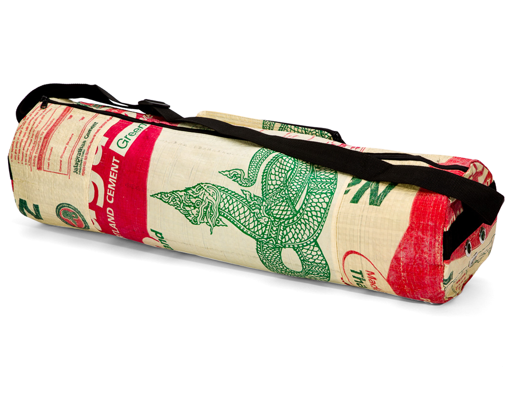 Torrain Recycled Bags, Designed in Portland Oregon: Anahata Yoga Mat Bag in the Naga Colorway
