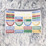 HAND-DRAWN Play Weekly Kit Erin Condren (Foil)