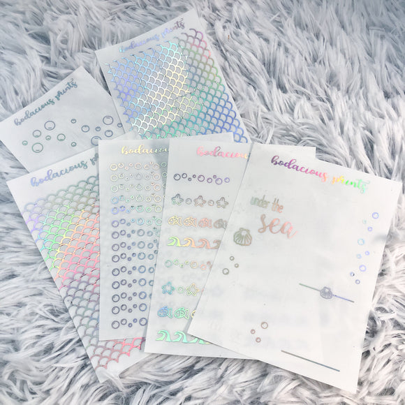 Clear Foil Summer Bundle