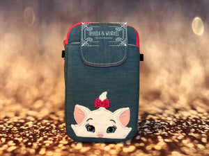 Sophisticated Kitten Cellphone Wallet