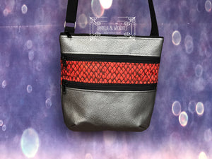 Dragon Scales Triple Zip Bag