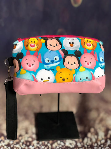 Stacked Friends Wristlet