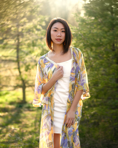 Courtney Long floral kimono duster, The Kimono Store, Mother's Day Gifts for Every Mom, gift guide