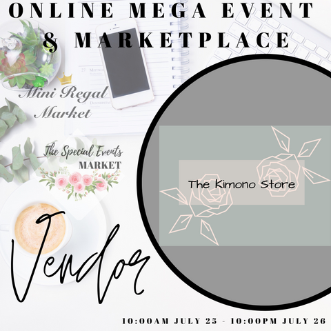 Mega online virtual shopping market, the kimono store canada