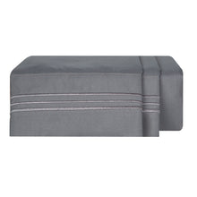Load image into Gallery viewer, 1800 Luxury Sheet Sets - Charcoal Gray