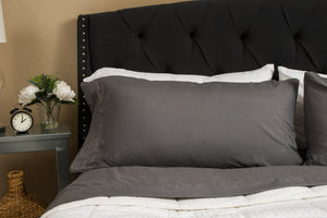 1800 Luxury Sheet Sets - Charcoal Gray
