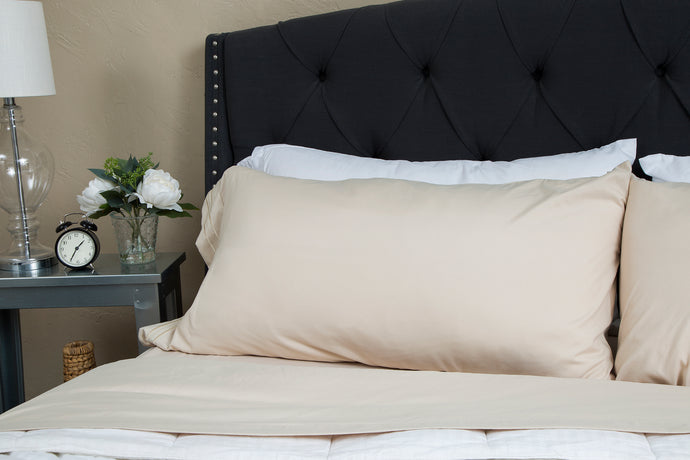 1800 Premium Duvet Cover Set - Cream