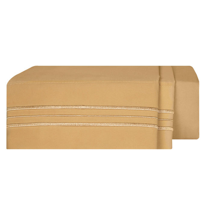 1800 Luxury Sheet Sets - Gold