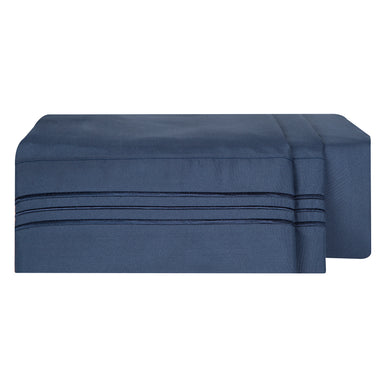1800 Luxury Sheet Sets - Navy Blue