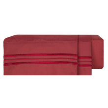 Load image into Gallery viewer, 1800 Luxury Sheet Sets - Red