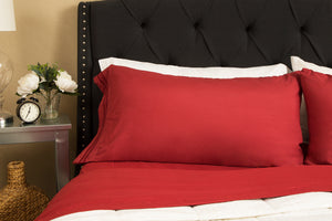 1800 Luxury Sheet Sets - Red