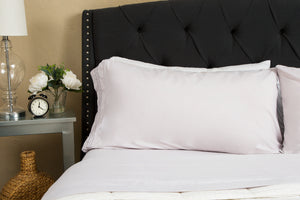 1800 Premium Duvet Cover Set - Silver Grey