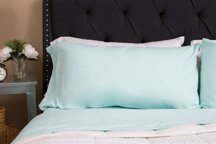 1800 Premium Duvet Cover Set - Tiffany Blue