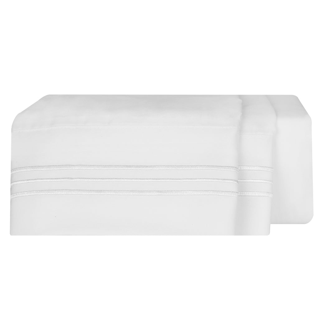 1800 Luxury Sheet Sets - Bright White