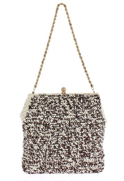 MISS AGATA BAG Raffia Woven Shoulder Satchel